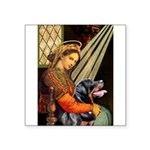 Madonna/Rottweiler Square Sticker 3
