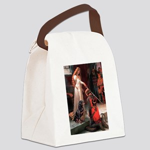 Accolade / Rottweiler Canvas Lunch Bag