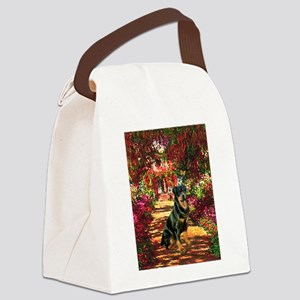 The Path / Rottie Canvas Lunch Bag