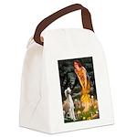 Midsummer's Eve & Saluki Canvas Lunch Bag