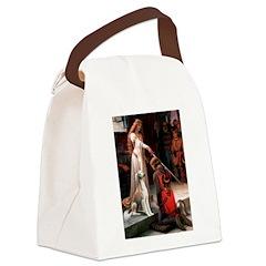Accolade / Saluki Canvas Lunch Bag