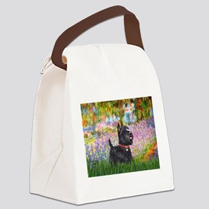 Garden (Monet) - Scotty Canvas Lunch Bag