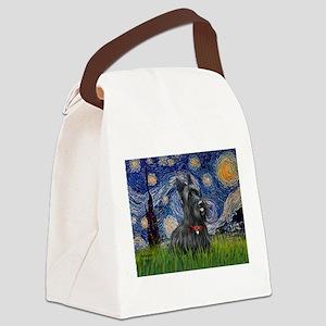 StarryNight-Scotty#1 Canvas Lunch Bag