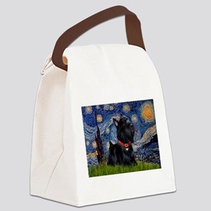 Starry / Scotty(bl) Canvas Lunch Bag