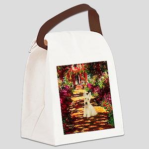 Path / Scottie (w) Canvas Lunch Bag