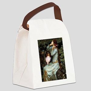 Ophelia / Shelie tri Canvas Lunch Bag