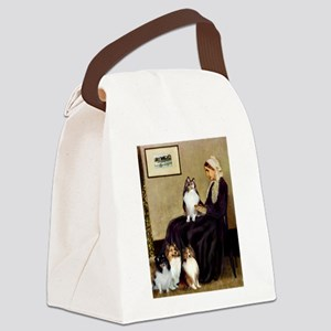 Whistler's / 3 Shelties Canvas Lunch Bag