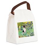 Irises / Toy Fox T Canvas Lunch Bag