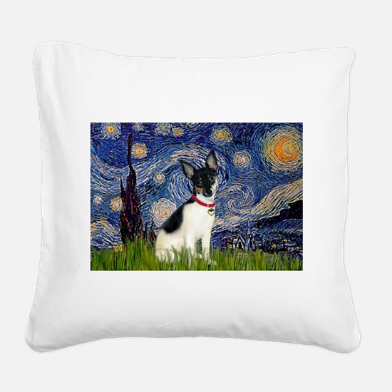 Starry / Toy Fox T Square Canvas Pillow