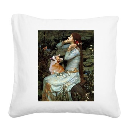 Ophelia's Welsh Square Canvas Pillow