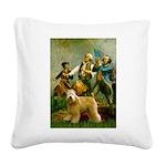 Spirit'76/Wheaten T Square Canvas Pillow