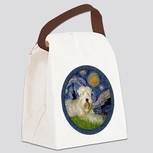 Starry / Wheaten (#1W) Canvas Lunch Bag