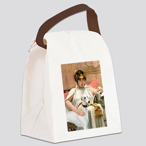 Cleopatria & her Whippet Canvas Lunch Bag