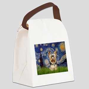STARRY / Yorkie (17) Canvas Lunch Bag