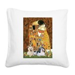KISS/PBGV8+Westie1 Square Canvas Pillow
