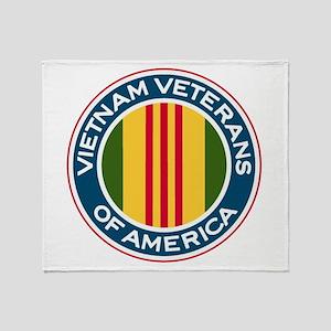 VVA Logo Throw Blanket