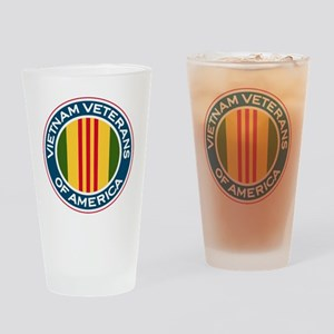 VVA logo Drinking Glass
