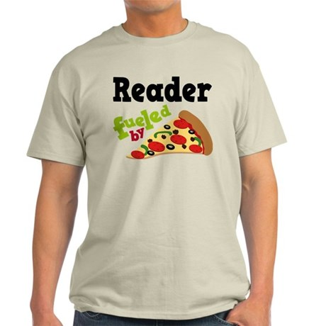 Reader Fueled By Pizza Light T-Shirt