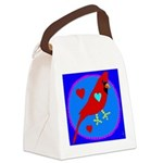 cardinalsong Canvas Lunch Bag