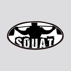 Squat Design. Black. Patches