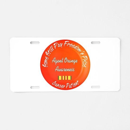 Freedom's Price Aluminum License Plate