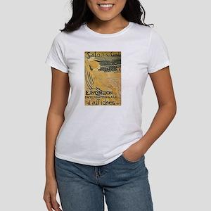 Salon des Cent Frenc Women's Classic White T-Shirt