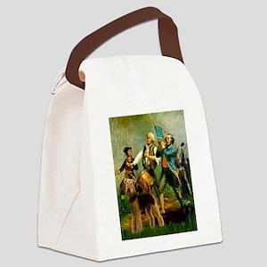 8x10-Spirit76-Airedale6 Canvas Lunch Bag