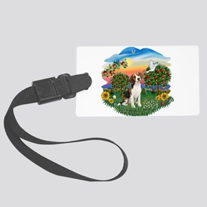 Bright Country - Beagle 1 Large Luggage Tag