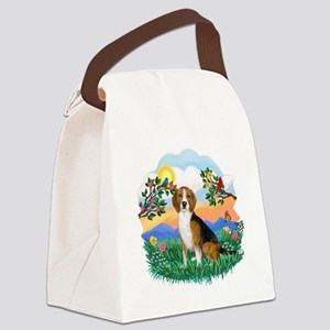 Bright Life - Beagle 4 Canvas Lunch Bag