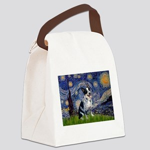 Starry Night/ Australian Catt Canvas Lunch Bag