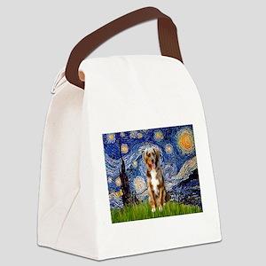 3-5.5x7.5-Starry-Aussie-Monk-RedMer Canvas Lun