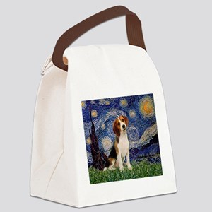 MP-Starry-Beagle1-nc Canvas Lunch Bag