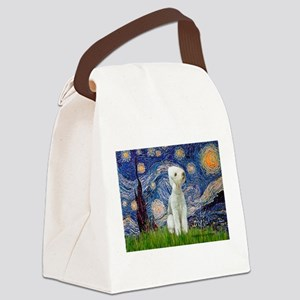 MP-STARRY-Bedlington1 Canvas Lunch Bag