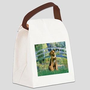 Bridge / Border Terrier Canvas Lunch Bag