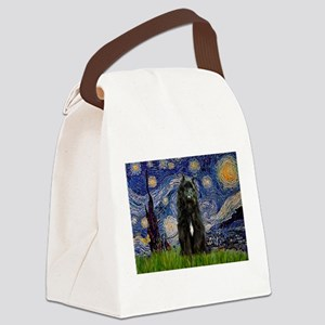 5.5x7.5-Starry-Bouvier1 Canvas Lunch Bag