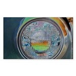 One headlight Sticker (Rectangle 50 pk)