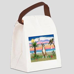 Palm Beach / Boxer Canvas Lunch Bag
