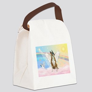 Angel / Boxer Canvas Lunch Bag