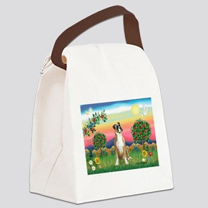 Boxer/Bright Country Canvas Lunch Bag