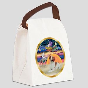XmasStar/Brittany #3 Canvas Lunch Bag