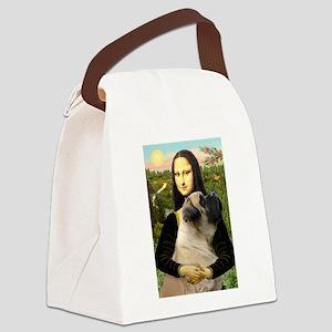 TILE-Mona-EngMastiff7 Canvas Lunch Bag