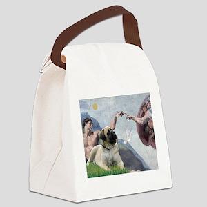 Creation/ Bull Mastiff Canvas Lunch Bag