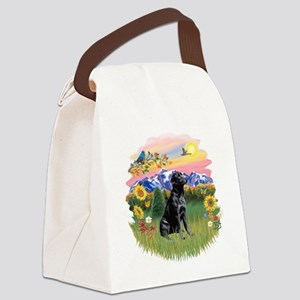 Mt Country - Black Lab Canvas Lunch Bag