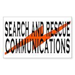 SAR Comm2 Sticker (Rectangle 50 pk)