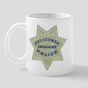 Las Vegas Policeman Mug