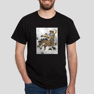 Cowboy13 Black T-Shirt