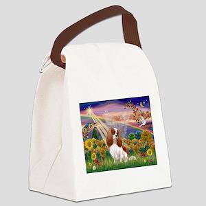 Autumn Angel & Blenheim Canvas Lunch Bag