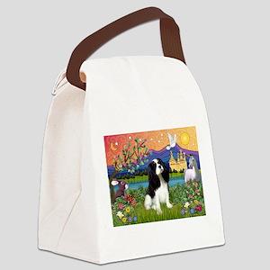 Tri Cavalier Fantasy Canvas Lunch Bag