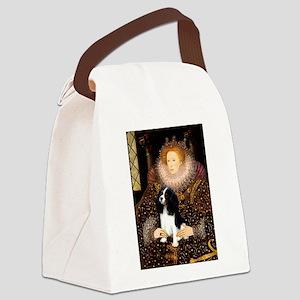 Queen & Tri Cavalier Canvas Lunch Bag
