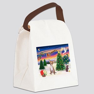 Take Off/Chihuahua Canvas Lunch Bag
